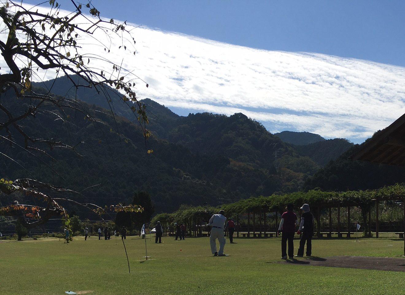 グラウンドゴルフ日和